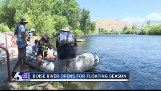 Boise River opens for floating season