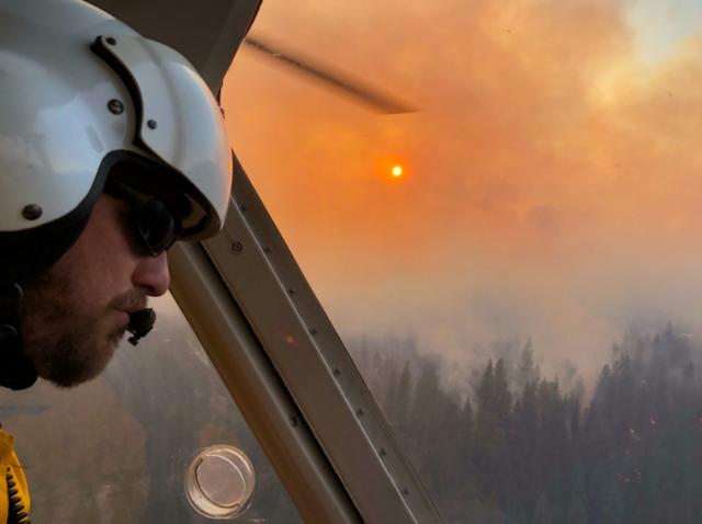 Prescribed burn now declared a wildfire