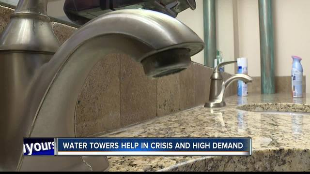nampa explains what water towers do to maintain a healthy water system boise id. Black Bedroom Furniture Sets. Home Design Ideas