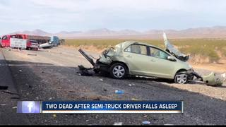 Two Idaho men dead after Vegas semi-truck crash