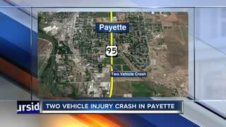 Teen in hospital after Highway 95 crash