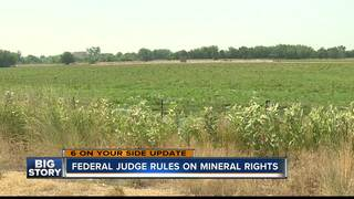 Federal judge rules on mineral rights