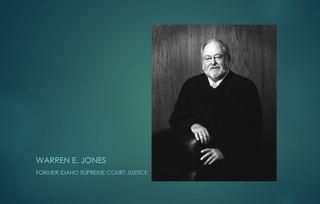 Idaho Supreme Court Justice Warren Jones dies