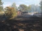 Juvenile-started grass fire destroys home