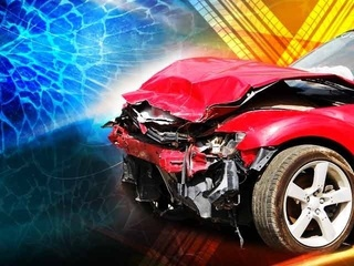 Two juveniles, one adult in hospital after crash