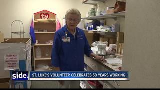 St. Luke's volunteer celebrates 50 years