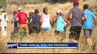 Third annual run for progress