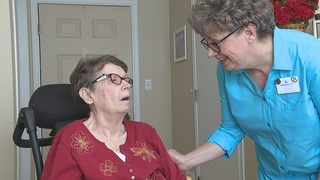 Willow Park employee cares for mother