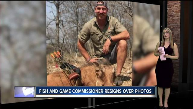 Idaho Fish & Game Commissioner resigns