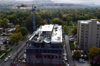 St. Luke's final steel beam lifted into place