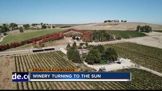 Hells Canyon Winery turns to solar power