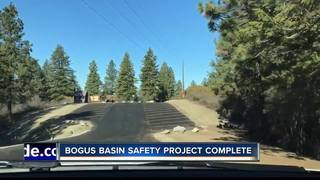 Bogus Basin safety improvement project complete