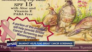 Balmshot helps fund breast cancer screenings