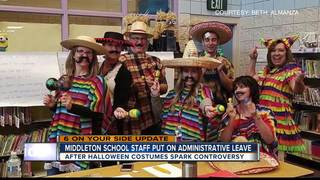 Middleton teachers placed on leave for costumes