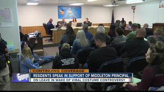 Middleton principal receives support