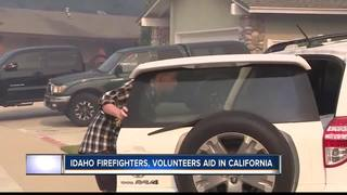 Idaho firefighters, volunteers aid in California