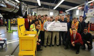 Teacher wins $50,000 for Boise trade school