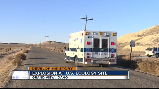 UPDATE: Man killed in US Ecology site explosion