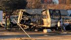 Two injured in travel trailer explosion