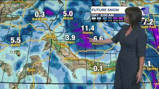 Storms could make for some tricky holiday travel
