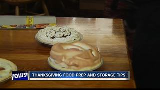 Thanksgiving food preparation and storage tips