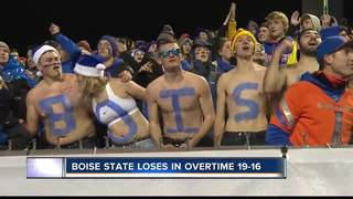 Boise State suffers loss on snow-white Blue Turf